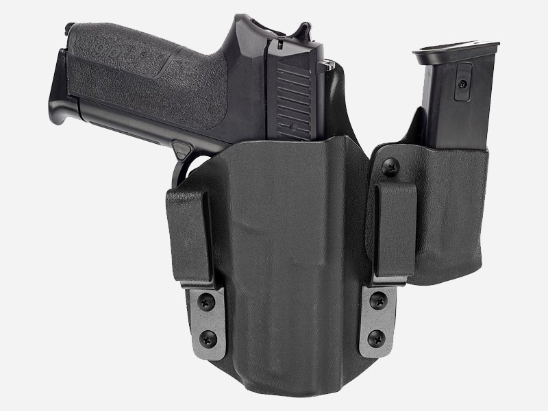 KYDEX AIWB HOLSTER W. MAG POUCH